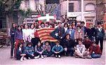 1985. Visita a Granollers.