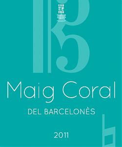 Cartell del Maig Coral del Barcelonès 2011