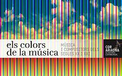 Imatge del repertori Els colors de la música