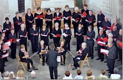 Concert del Cor Sïgnum i el Quartet Glosa a la Capella de Santa Àgata