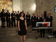 Concert del Cor Sängerrunden a la Capella de Santa Àgata